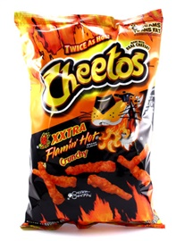 Picture of Cheetos Xxtra Flamin' Hot Crunchy 8.5 oz (Pack of 3) - Item No. 28400-09858