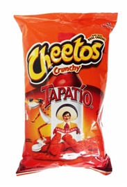 Picture of Cheetos Crunchy Tapatio Salsa Picante Made with Real Cheese (Pack of 3)- Item No.28400-14973