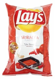 Picture of Lay's Sriracha Flavored Potato Chips 9.5 oz (Pack of 3) - Item No. 28400-15016