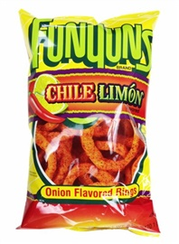 Picture of Funyuns Chile Limon Onion Flavored Rings 6 oz (Pack of 3) - Item No. 28400-23431