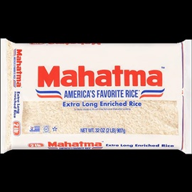 Picture of Mahatma Long Grain Rice Poly 1 LB - Item No. 28817