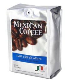 Picture of 100% Cafe de Altura Mexican Coffee Ground by MexGrocer.com - Item No. 29440-87015