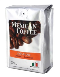 Picture of Cafe de Olla Mexican Cinnamon Coffee by MexGrocer - Item No. 29440-87019