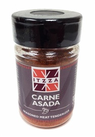 Picture of ITZZA Carne Asada - Seasoned Meat Tenderizer 4 oz - Item No. 29440-87481