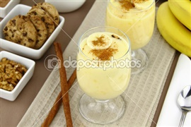 Picture of Banana Vanilla Pudding Recipe - Item No. 296-banana-pudding