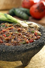 Picture of Fire Roasted Fresh Red Salsa / Salsa de Molcajete Roja by Del Real- Item No.29793-05044