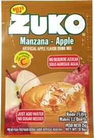 Picture of Zuko Apple Flavor Drink Mix (1 Liter / 0.9 oz) 3 Pack- Item No.30108-00011