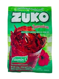Picture of Zuko Hibiscus - Jamaica Flavor Drink Mix (1 Liter / 0.9 oz) 3 Pack - Item No. 30108-00018