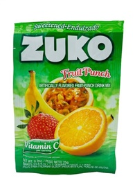 Picture of Zuko Fruit Punch Flavor Drink Mix (1 Liter / 0.9 oz) 3 Pack - Item No. 30108-00019