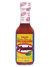 Picture of Red Chile Habanero Sauce by El Yucateco 4 oz. - Item No. 3106