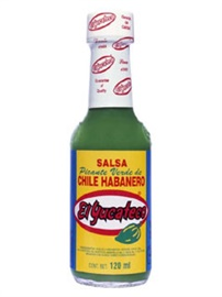 Picture of Green Chile Habanero Sauce by El Yucateco 4 oz.- Item No.3107
