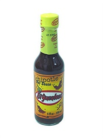 Picture of Chipotle Hot Sauce by El Yucateco 5 FL OZ. - Item No. 3108