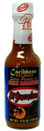 Picture of Habanero - El Yucateco Caribbean Habanero Hot Sauce 4 oz- Item No.3109