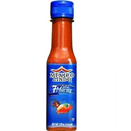 Picture of Salsa Marisquera - Siete Mares Hot Sauce 5 oz - Item No. 3172