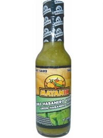 Picture of Habanero Hot Sauce - Mayanik Green Habanero  5 oz - Item No. 3180