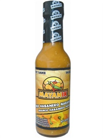 Picture of Habanero Sauce - Mayanik Orange Habanero Hot Sauce 5 oz - Item No. 3181
