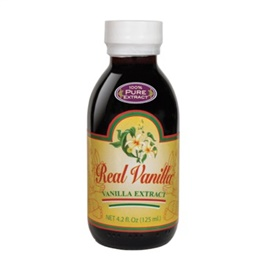 Picture of Mexican Vanilla 100% Pure Extract 4.2 FL OZ - Item No. 3191