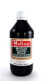 Picture of Mexican Vanilla - Molina Vanilla  8.4 FL OZ - 250 ml- Item No.3194