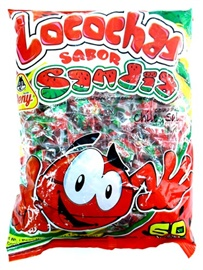 Picture of Beny Locochas sabor Sandia Chile y Sal (19 oz) 60 pieces - Item No. 32748-00995