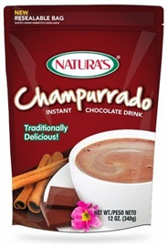 Picture of Natura's Champurrado Instant Chocolate Drink 12 oz. - Item No. 3295