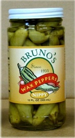 Picture of Bruno's Wax Peppers Nippy - Item No. 35836-00005