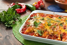 Picture of Chicken Enchiladas Mexican Recipe - Item No. 359-chicken-enchiladas
