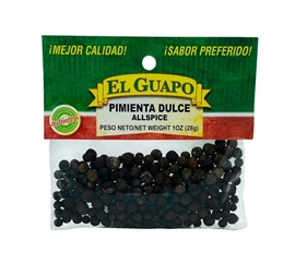 Picture of Allspice - Pimienta Dulce by El Sol de Mexico .50 oz - Item No. 3627