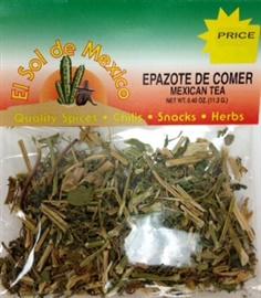 Picture of Epazote de Comer Mexican Tea by El Sol de Mexico .40 oz- Item No.3667