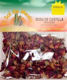 Picture of Rosa de Castilla Rose Buds by El Sol de Mexico .40 oz- Item No.3669