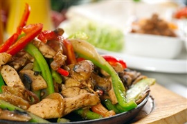 Picture of Broiled Chicken Fajitas Recipe - Item No. 371-broiled-chicken-fajitas