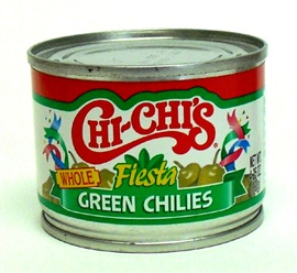 Picture of CHI-CHI'S Green Chilies, Whole4.25 oz - Item No. 37600-00046