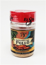 Picture of Sazonador de Pollo Chicken Seasoning by El Sol - Item No. 37714-02000