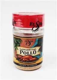 Picture of Sazonador de Pollo Chicken Seasoning by El Sol- Item No.37714-02000