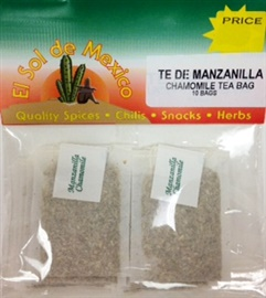 Picture of Chamomile Tea by El Sol de Mexico - Item No. 37714-manzanilla