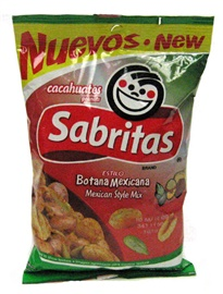 Picture of Sabritas Mexican Style Peanuts - Botana Mexicana 7 oz (Pack of 3)- Item No.37826