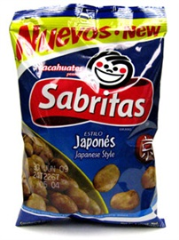 Picture of Sabritas Japanese Peanuts 7 oz (Pack of 3) - Item No. 37843