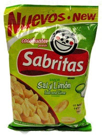 Picture of Sabritas Salt and Lime Peanuts (Sal y Limon) 7 oz (Pack of 3)- Item No.37846