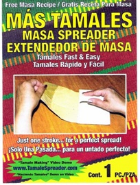 Picture of Tamales Masa Spreader - Extendedor de Masa MAS TAMALES Mex-Sales- Item No.39584-00110