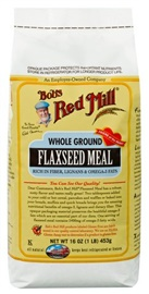 Picture of Flaxseed - Organic Whole Ground Flaxseed Meal by Bob's Red Mill - Item No. 39978-00330