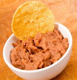 Picture of Chorizo and Bean Dip Mexican Recipe - Item No. 41-chorizo-and-bean-dip