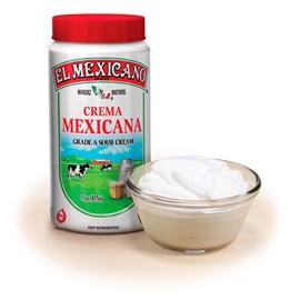 Picture of Crema Mexicana (Sour Cream) El Mexicano Tri-Pack- Item No.42743-12308