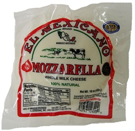 Picture of Queso Mozzarella El Mexicano Tri-Pack - Item No. 42743-12320