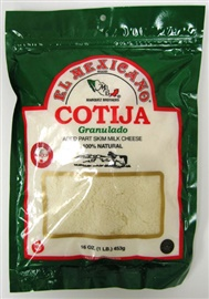 Picture of Queso Cotija Granulado - Grated Cotija Cheese 16 oz - Item No. 42743-12333