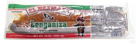 Picture of El Mexicano Pork Longaniza 10 oz (283.4g) - Item No. 42743-18013