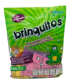 Picture of Brinquitos Sweet'n Sour Powder with Chili 100 pieces - Item No. 43895-86913