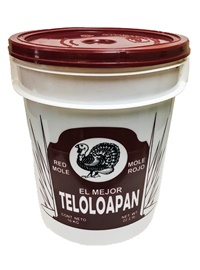 Picture of Teloloapan Red Mole El Mejor (Bucket) 22 lbs (10 kgms) - Item No. 44774-10300