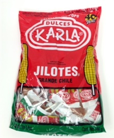 Picture of Paletas - Lollipops Jilotes Grande Chile 1lb 7.9oz - Item No. 44911-00168