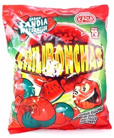 Picture of Chilibonchas Watermelon Chilli Filled Hard Candy - Item No. 44911-00651