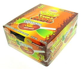 Picture of Tama King Gummy Tamarind with Chili Lollipops (14.39 oz) 24 pieces - Item No. 44911-44118