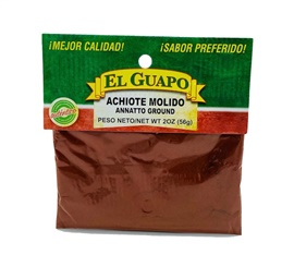 Picture of Achiote Molido Annatto Ground 2 oz - Item No. 44989-00068